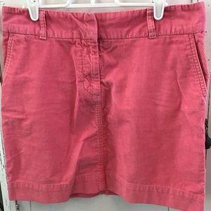 ❤️ Vineyard Vines Cape Cord Skirt Pink